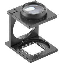 Peak 3408-WZ3 Linen Tester Folding Magnifier, 8x