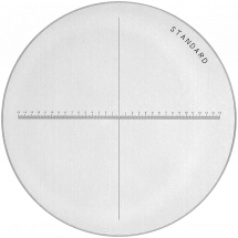 Peak Glass Measuring Graticules