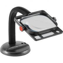 Peak 2041 Flexible Desk Magnifier
