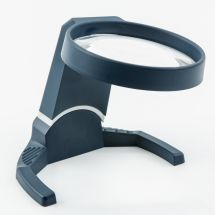 Coil Stand Magnifier 4x tilting