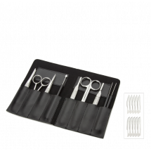 9 Piece Dissecting Set in Case | Euromex  PB.5112