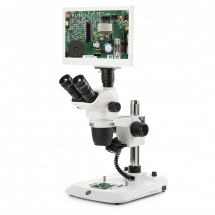NexiusZoom Evo Stand-alone digital stereo microscope